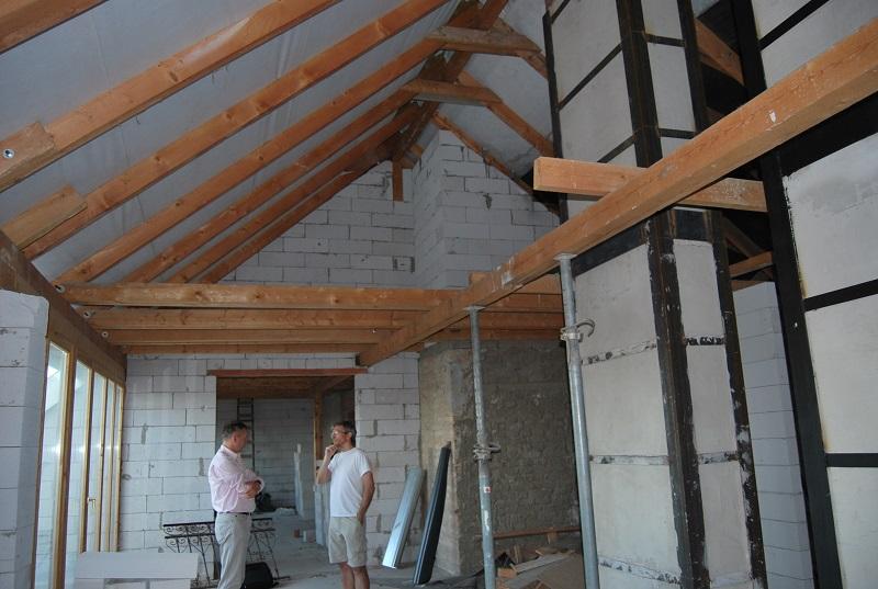 Tetőtérbeépítés a Várnál