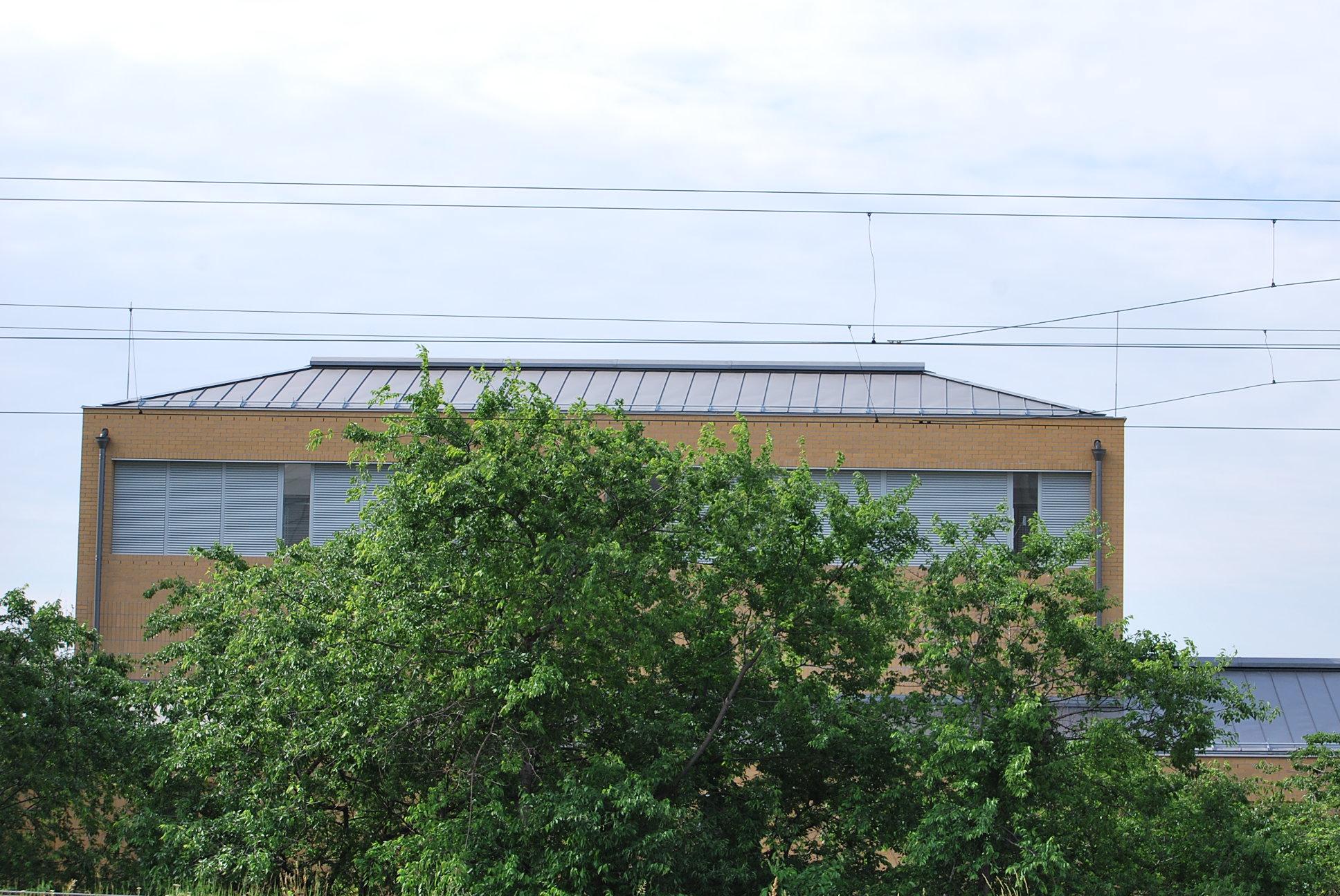Transzformátor állomás tetőcseréje